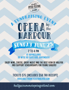 Opera by the Harbour: a fundraiser for Halifax Summer Opera Festival