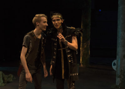 Production photos from A Midsummer Night's Dream!