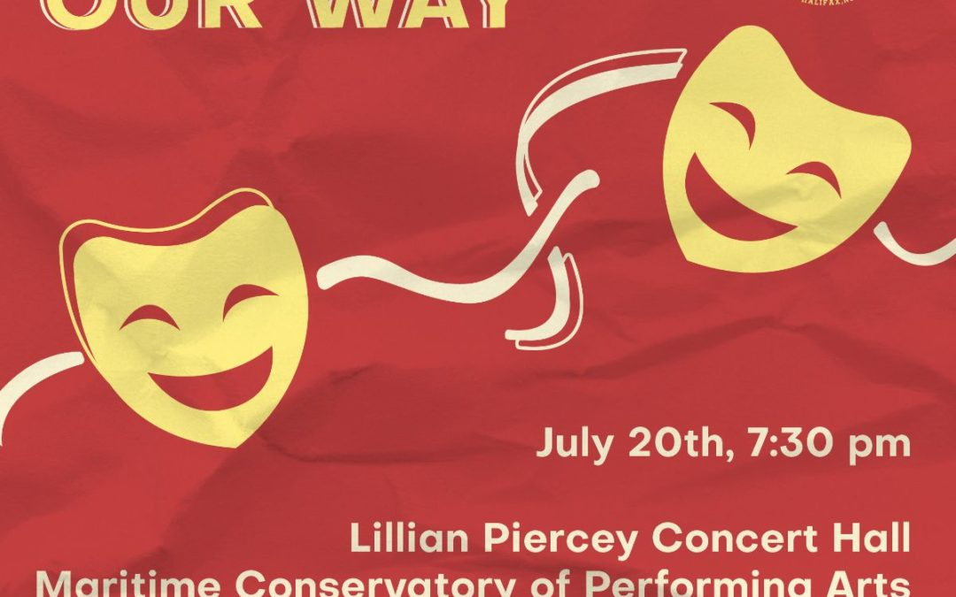 Broadway Our Way, musical theatre concert on July 20